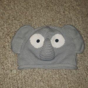Hanna Andersson cotton knit elephant hat M